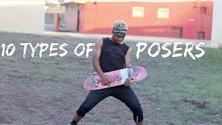 10 Types of Posers
