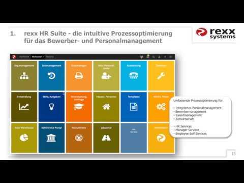 Webinar: Die Digitale Personalakte von rexx systems