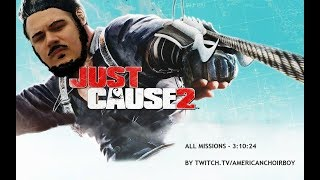 Just Cause 2 All Missions WR Speedrun 3:10:24 (5/30/18)