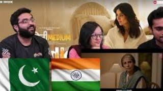 Laadki - Angrezi Medium | Irrfan, Kareena, Radhika | Rekha Bhardwaj Sachin-Jigar | PAKISTAN REACTION
