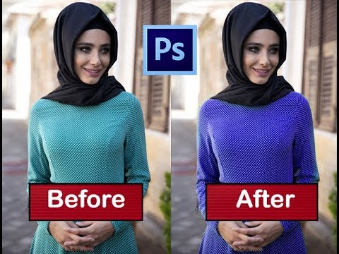 how to easily change shape color in photoshop