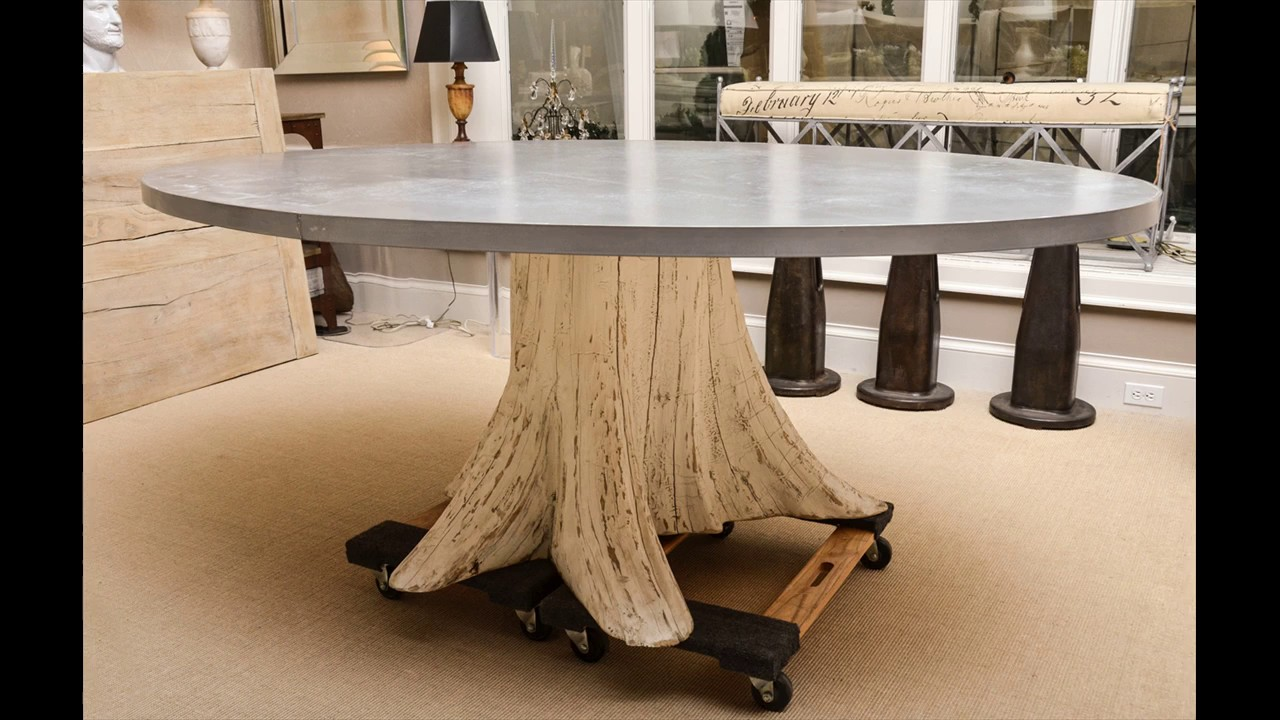 Tree Trunk Coffee Table Ideas