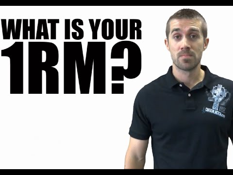 What is Your 1RM & Why is that So Important?