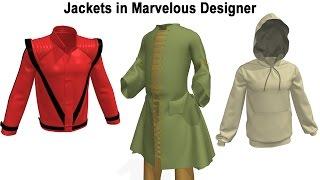 How To Make Jackets in Marvelous Designer