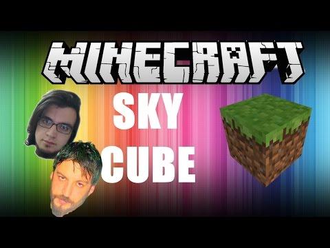Minecraft Türkçe Survival   Sky Cube   Gizemli Küpe Giriş   Bölüm 6