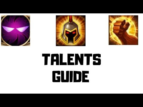 Castle Clash | Talent Guide | What Is Best For???