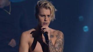 "Justin Bieber Raps Eminem's ""Lose Yourself"" During Surprise London Show"