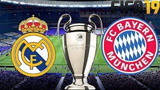FIFA 19 | FC BAYERN MÜNCHEN vs. REAL MADRID | UEFA CHAMPIONS LEAGUE ◄FCB #61►