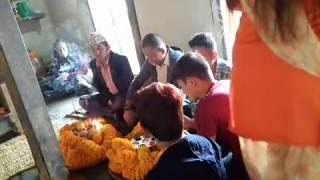Village tihar celebration 2075, rural area in nepal