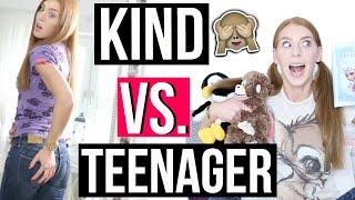 KIND VS. TEENAGER! Wie DEIN LEBEN früher war und heute! | LaurenCocoXO