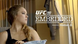 UFC 190 Embedded: Vlog Series – Episode 1