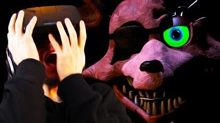 IT'S COMING RIGHT FOR ME! | Five Nights At Freddy's 2 Oculus Rift DK2