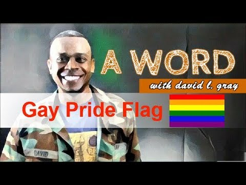A Word: Christians Avoid the Gay Pride Flag
