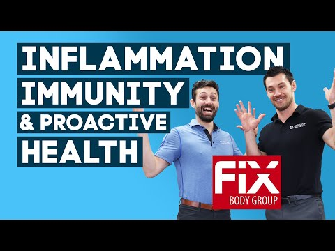 Inflammation, Immunity, and Proactive Health with Fix Body Group