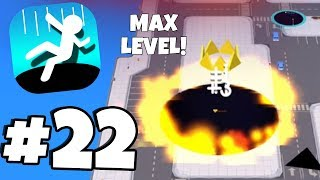MAX LEVEL! - New RAREST FIRE SKIN & HALLOWEEN UPDATE?!! - Hole.io Gameplay Part 22