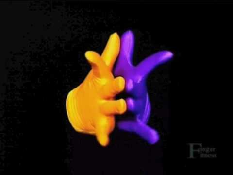 Advanced Finger Fitness Guide DVD Dance
