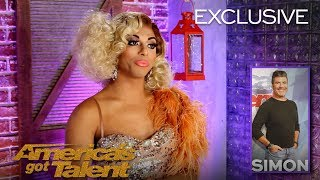 Shangela Gives The Judges Drag Names (Extended) - America's Got Talent 2018