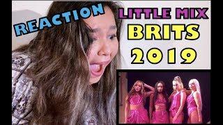 LITTLE MIX (BRITs 2019)   React   Canal Mixturinha