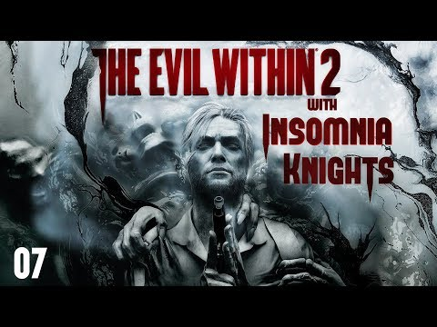 Let's Play The Evil Within 2 - Part 7 Nightmare - City Halls Buzzsaw Stalker Boss.