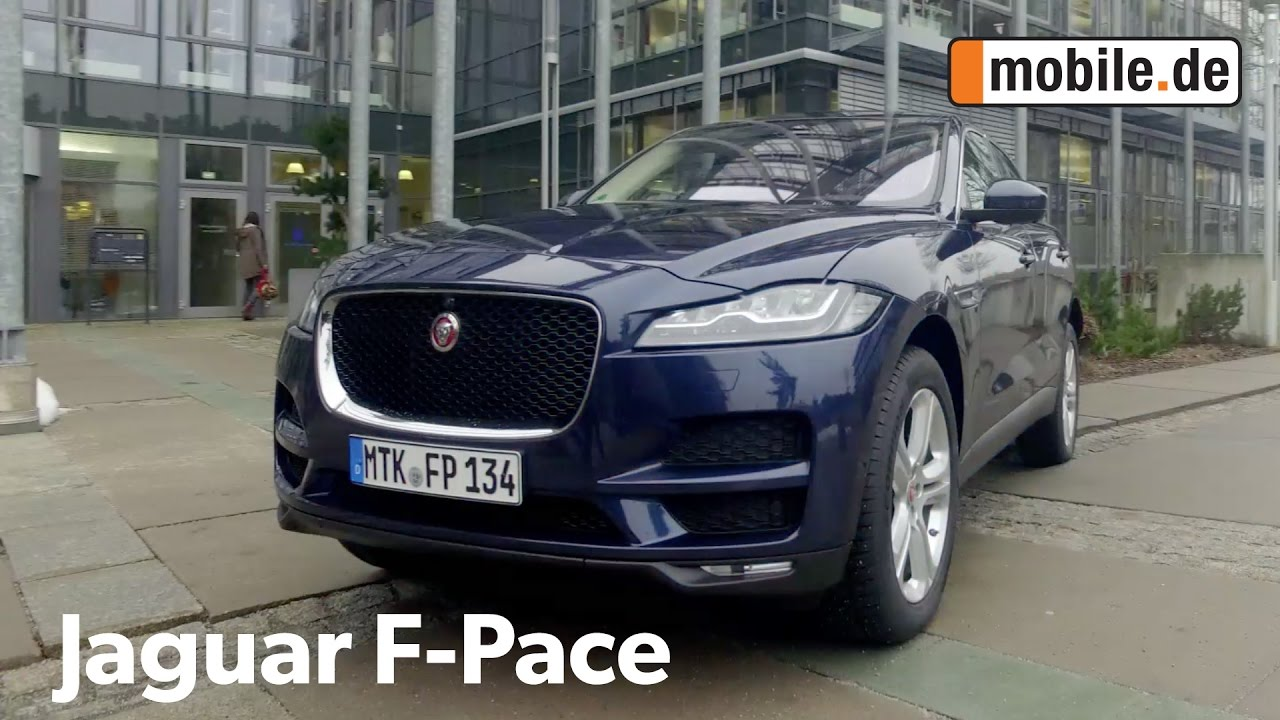 auto test jaguar f pace x761 ab 2016 youtube. Black Bedroom Furniture Sets. Home Design Ideas