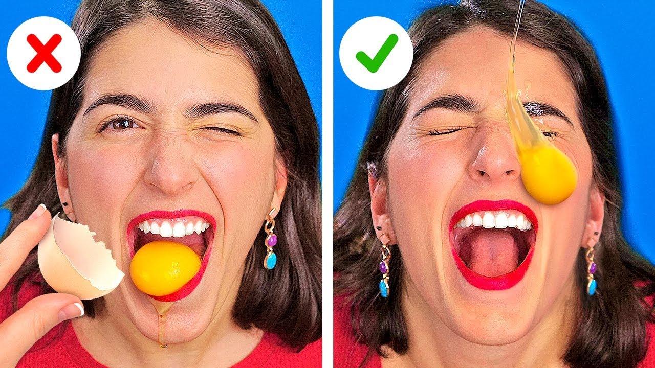 Download YA YE YA DA GİY, ŞAHANE BİR YEMEK MEYDAN OKUMASI! || 123 GO! CHALLENGE'dan Komik Şakalar