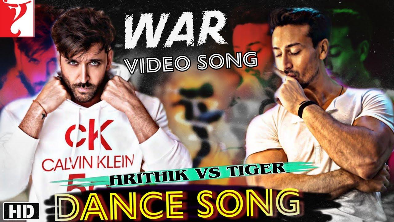 War Dance song, Hrithik Roshan, Tiger shroff, Vaani Kapoor, War Songs,