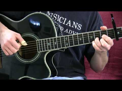 Small Bump Guitar lesson - Pluck and Chuck Guitar Series Songs #2