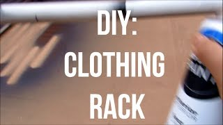 Diy: Pvc Clothing Rack