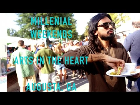 MILLENNIAL WEEKENDS | ARTS & CULTURE IN AUGUSTA, GA | KMSHAFI