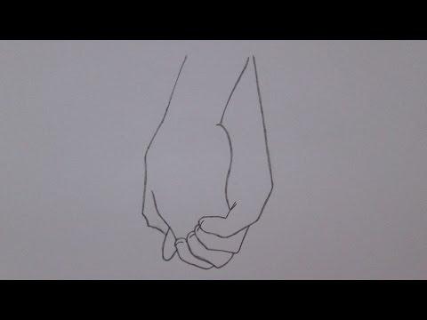 Como Desenhar Maos Dadas Youtube