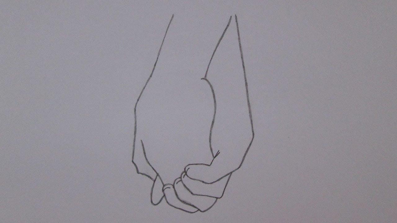 Como Desenhar Mãos Dadas