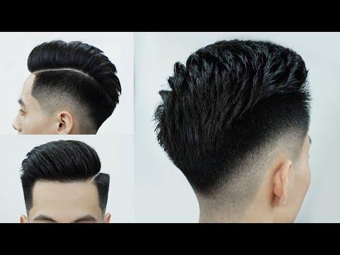 Kiểu tóc Undercut - Cắt tóc nam đẹp 2020 - Chính Barber Shop