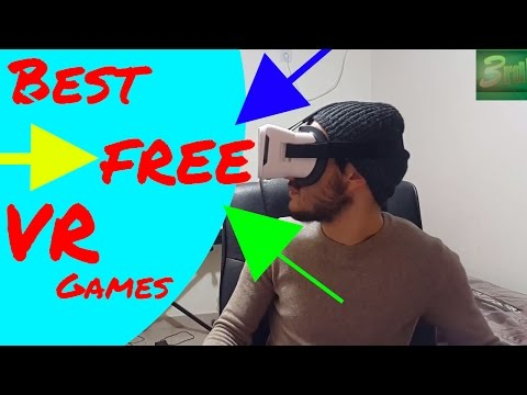 BEST FREE VR GAMES PREVIEW (with no GyroScope/Controller)