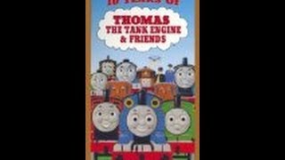 Years Thomas Tank Engine Vhs Part