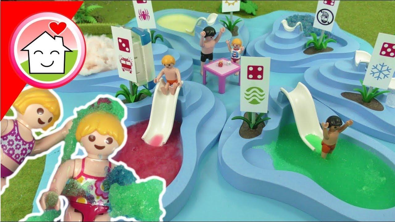 Download Playmobil Film Familie Hauser - Würfel nicht den falschen Pool - Schleim Pool im Aquapark