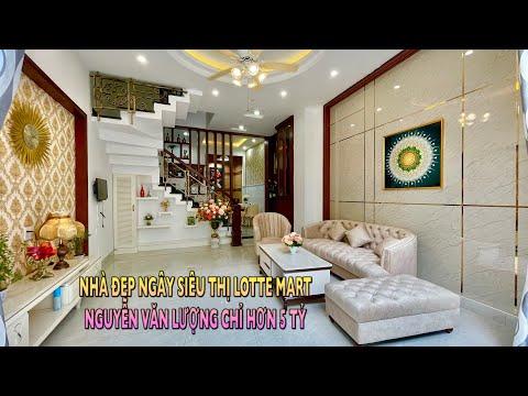 330🐃Bán Nhà Gò Vấp. 4,5m x11m Ngây Siêu Thị Lotte Mart Nguyễn Văn Lượng Sang Trọng Giá Chỉ Hơn 5 Tỷ