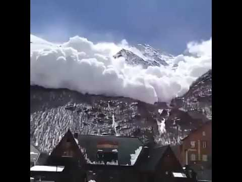 Clouds Falling from the Sky in Switzerland