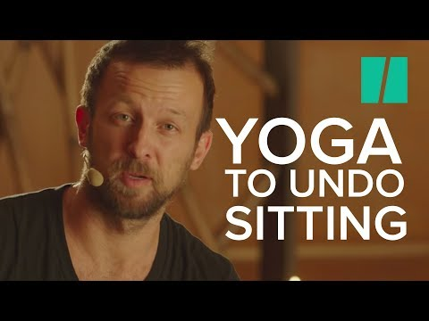 A Reclining Pose To Help Undo The Damages Of Sitting