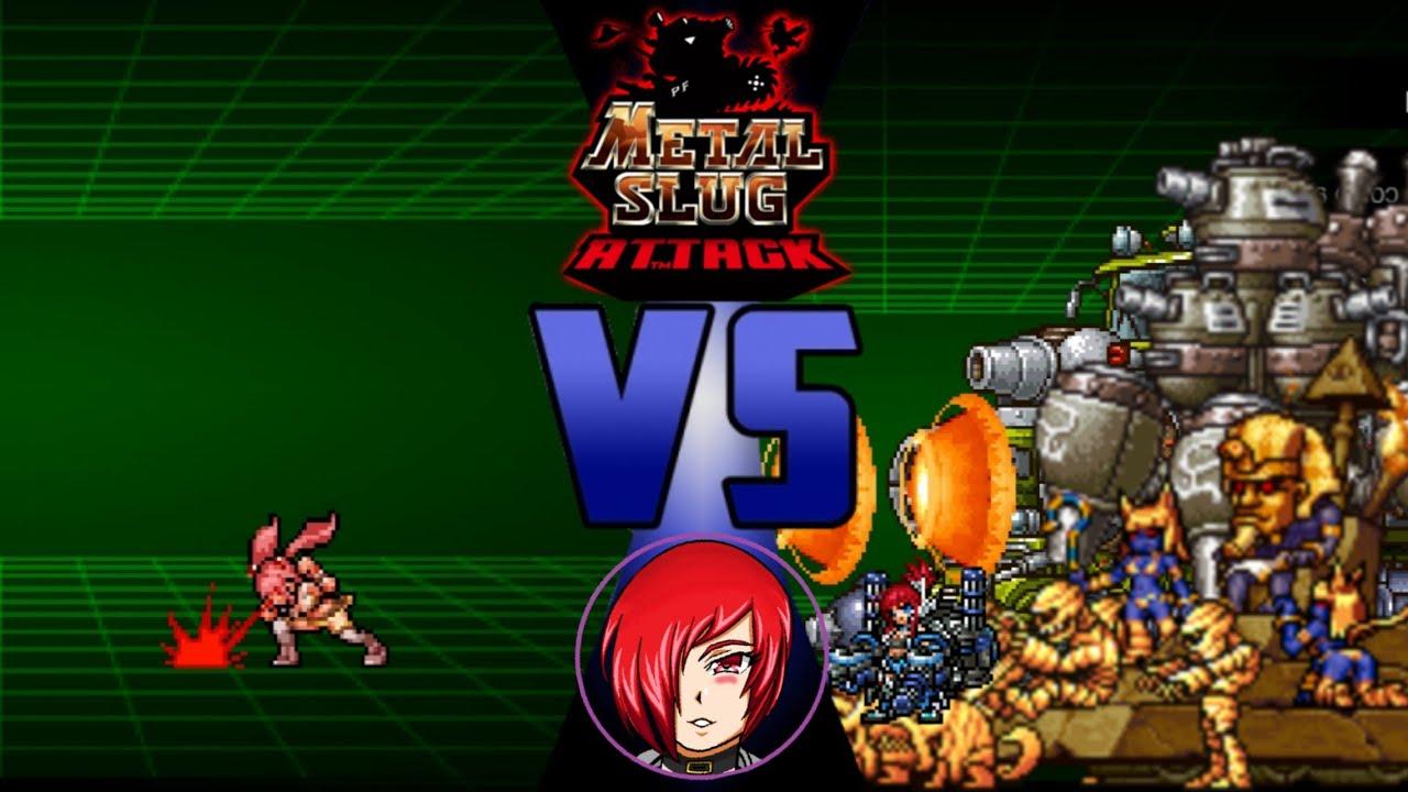 Nova partiendo madres Vs Tops Bosses, Metal Slug Attack (MSA.)