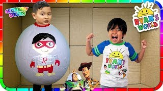 I Mailed Myself to Ryan Toysreview in a GIANT EGG and It Worked! (Skit)