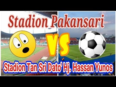 STADION INDONESIA VS STADIUM MALAYSIA ( PAKANSARI VS TAN SRI DATO' HJ. HASSAN YUNOS )