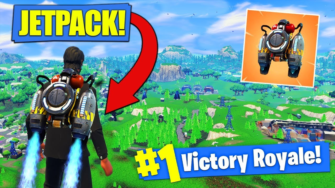 *NEW* JETPACK Comming Soon to Fortnite Battle Royale! Video