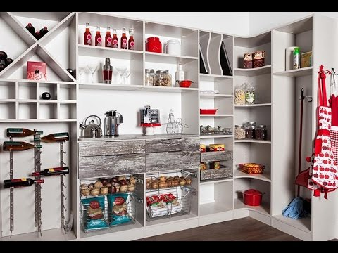 Custom Pantry Organization System From Closet Works