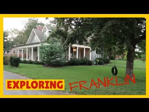 Exploring Franklin Tennessee from our Airbnb !!! Part 1 of our Nashville House Search!