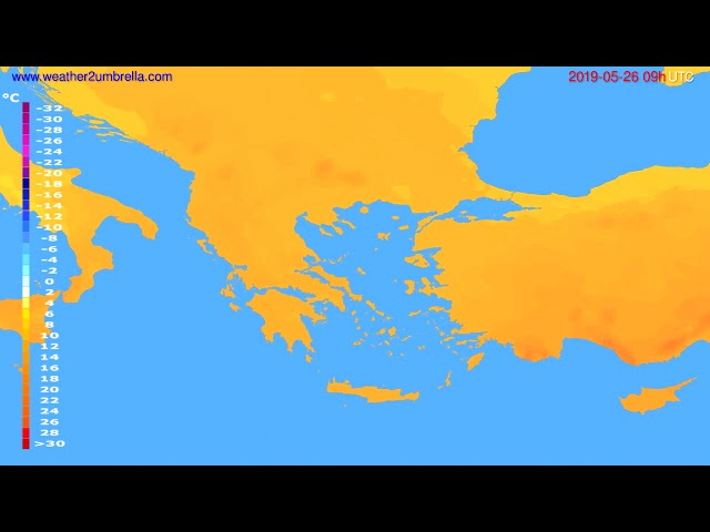 <span class='as_h2'><a href='https://webtv.eklogika.gr/temperature-forecast-greece-modelrun-12h-utc-2019-05-24' target='_blank' title='Temperature forecast Greece // modelrun: 12h UTC 2019-05-24'>Temperature forecast Greece // modelrun: 12h UTC 2019-05-24</a></span>