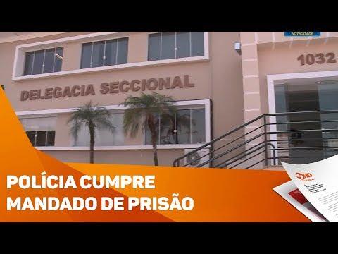 Polícia cumpre mandados de prisão - TV SOROCABA/SBT