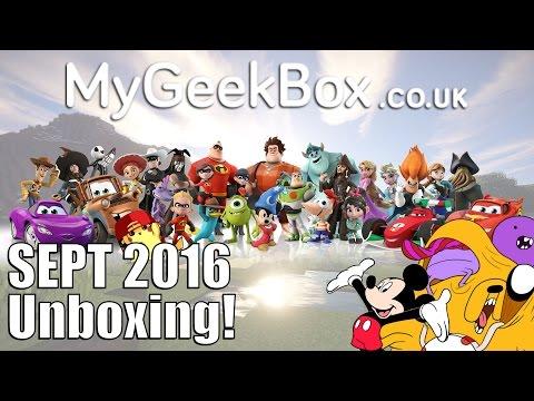 MyGeekBox Sept 2016 Unboxing