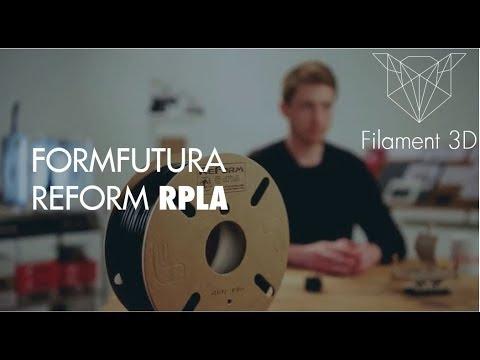 Présentation du Filament RPLA Formfutura
