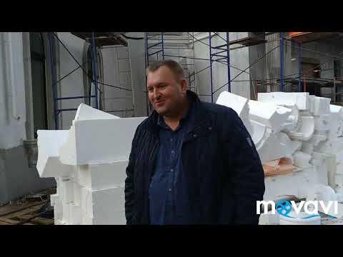 Работа на фасаде в зимнее время в тепляках, как сделать рамки тепляков одного размера