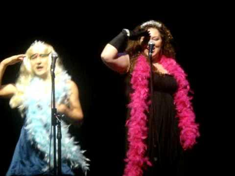 Tec Voc karaoke 2009- The Dancing Queens